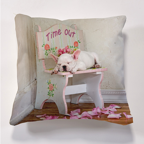 Iconic Time Out Cushion Cushion Personalise it for FREE
