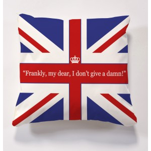 iconic Brit cushion