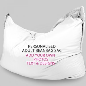Personalised Multi use Adult Beanbag Sac