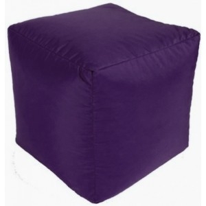 Purple Outdoor Cube/Footstoo