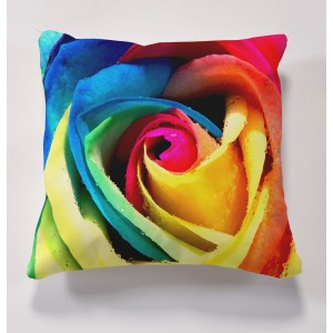 printed rose cushions
