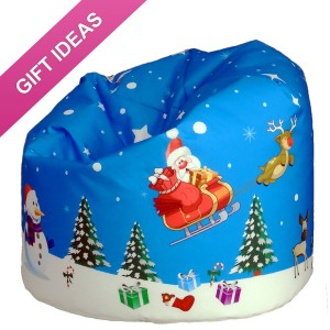 Christmas theme Beanbag. The perfect Gift