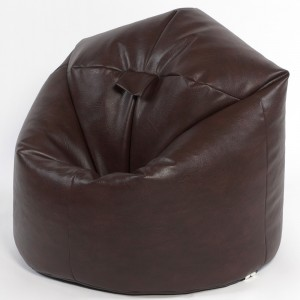 Adult Classic Faux Leather Beanbag