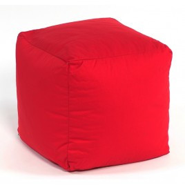 Footstool Cube Cotton Large