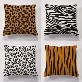 Set of 4 water resistant animal cushions was £49.99   SALE