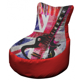 Union Jack Guitar Red OFFICIAL AND LICENSED MERCHANDISE was £99.99 SALE