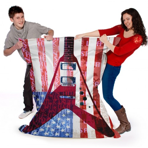 USA Rock Guitar Wow Sack OFFICAL AND LICENSED MERCHANDISE WAS £109.99 SALE
