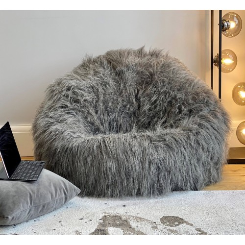 Adult Luxury Faux Fur Beanbag Classic