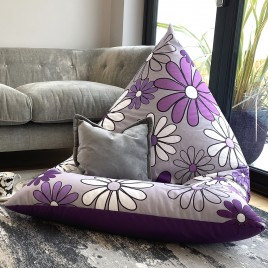 Flip and Sit Reversable Beanbags for indoors or outdoors