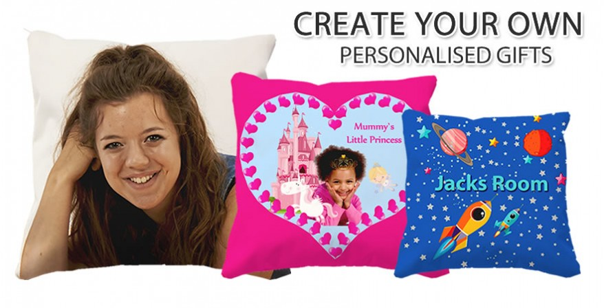 Personalised cushions and beanbags