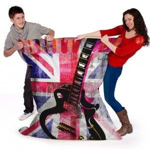 Britt Guitar Wow Sack OFFICAL AND LICENSED MERCHANDISE WAS £109.99 Printed Beanbags