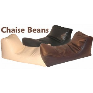 Chaise Beanbag Faux Leather Chaise