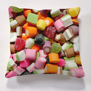 Iconic Dolly Mixture Cushion  Cushions