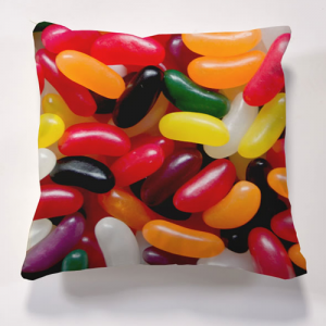 Iconic Jelly Bean Cushion  Cushions