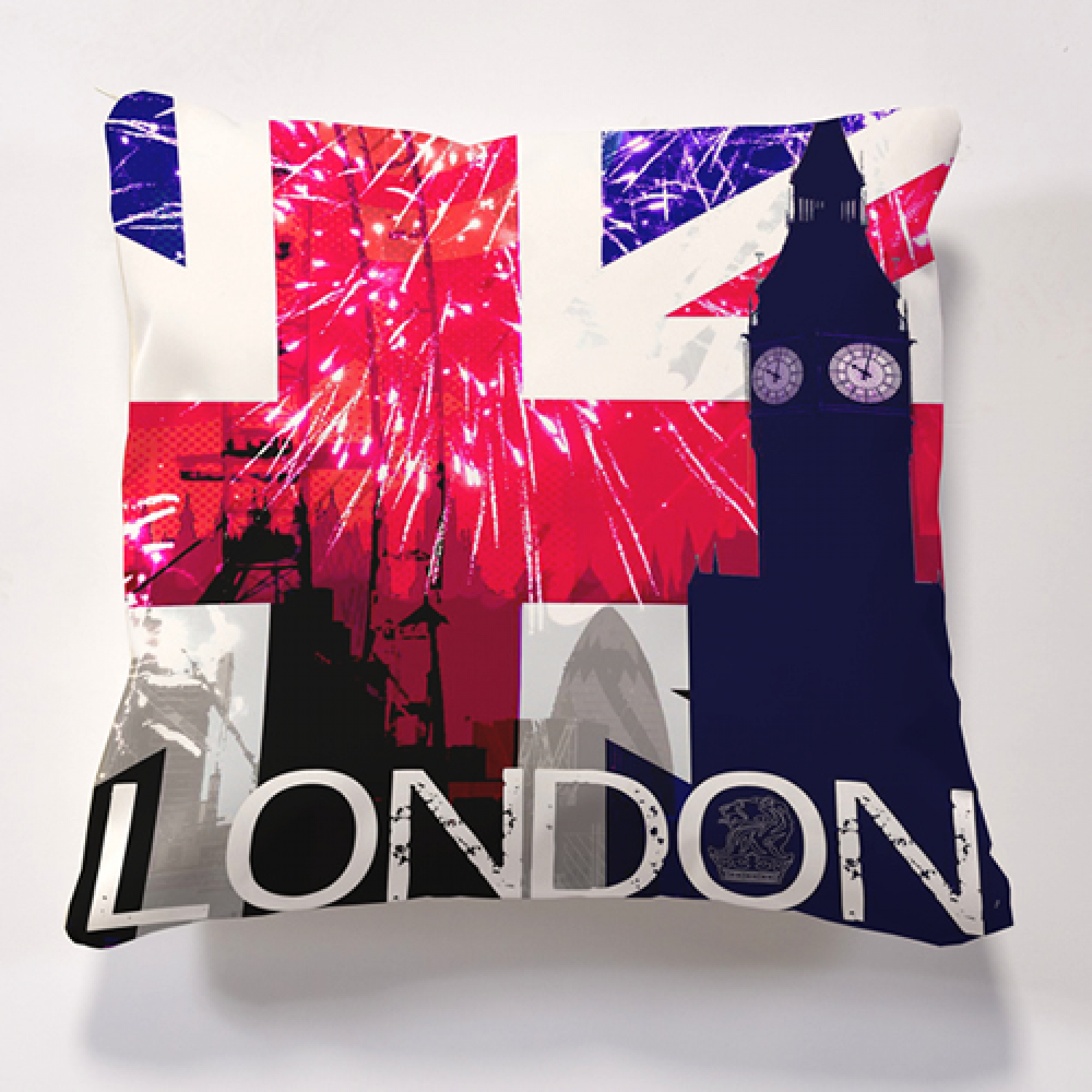 Iconic London Big Ben Cushion Official And Licensed