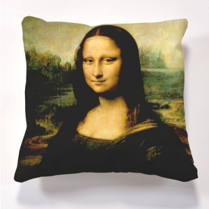 Iconic Mona Lisa Cushion Cushions