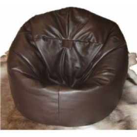 Real Leather Classic Beanbag Real Leather