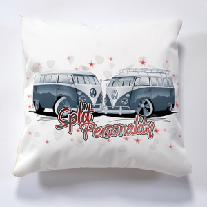 Iconic Split Personality Cushion Personalise it for FREE Cushions