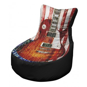 USA guitar black OFFICAL AND LICENSED MERCHANDISE was £99.99