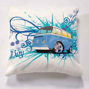 Iconic VW Bay Cushion Cushion Personalise it for FREE Cushions
