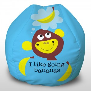 Going Bananas printed beanbags