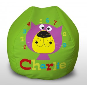 Charlie Numbers childrens beanbag