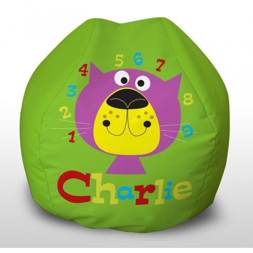 Charlie Numbers childrens beanbag