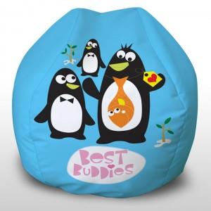 Best Buddies printed beanbag