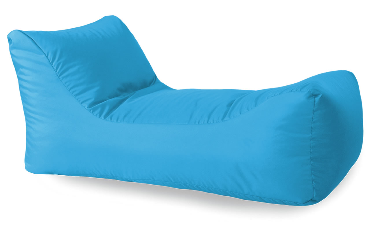 Chaise beanbag for indoors or outdoors for Bean bag chaise lounge