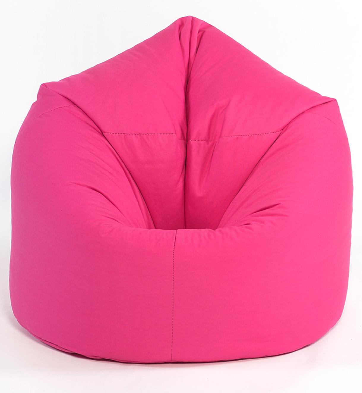 Kids Pink Cotton Classic Beanbag